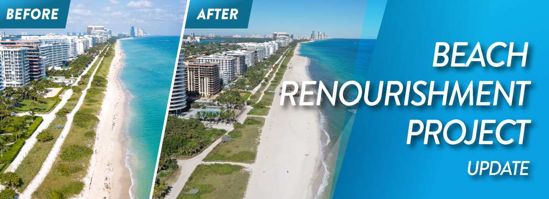 Beach Renourishment Project Banner