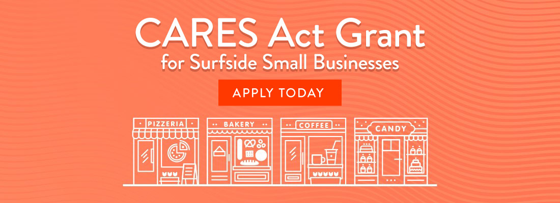 CARES Act Grant for Surfside Small Businesses
