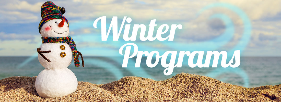 Upcoming Winter Programs