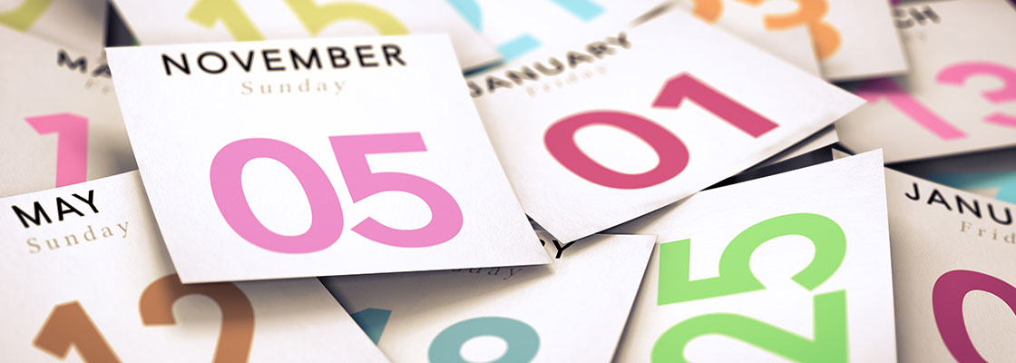 Calendar Web Banner