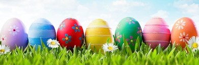 easter-banner-colorful-painted-eggs-260nw-566833951