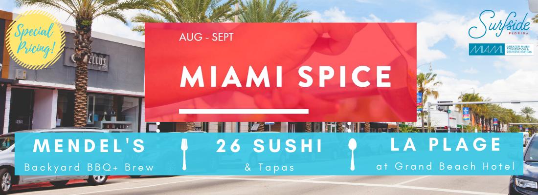surfside restaurants participating in miami spice