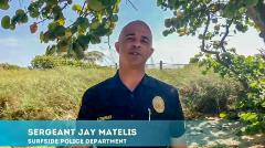 Surfside Police Hurricane PSA Video